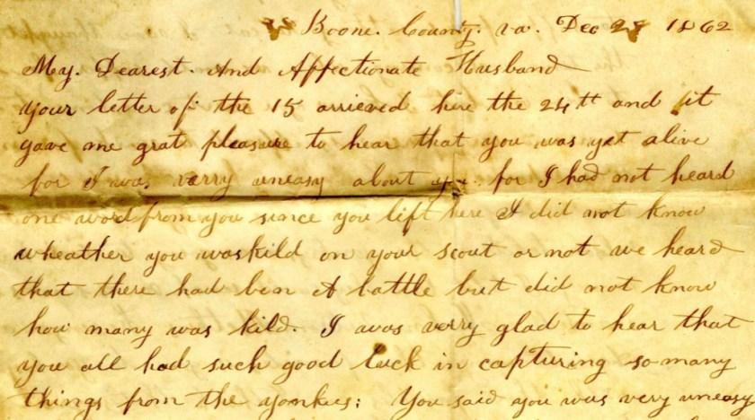 1862 Hopkins Letter