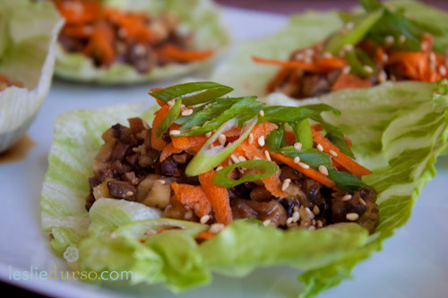 Asian Lettuce Tacos