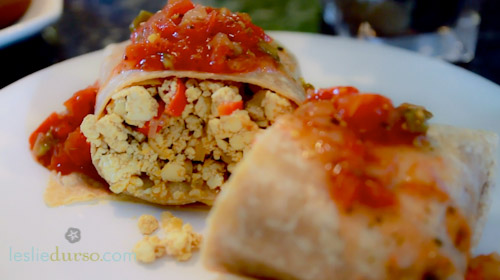 Breakfast Burritos… Vegan Style!