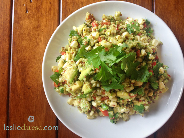 Vegan Quinoa Summer Salad