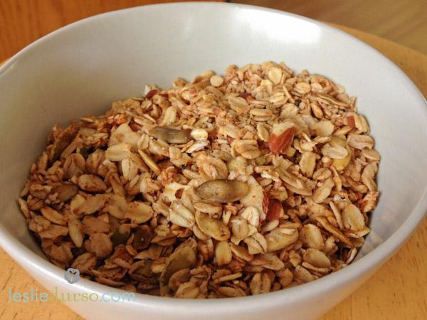 Homemade Vegan Granola