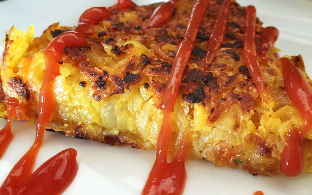 Potato Hashbrown Cake