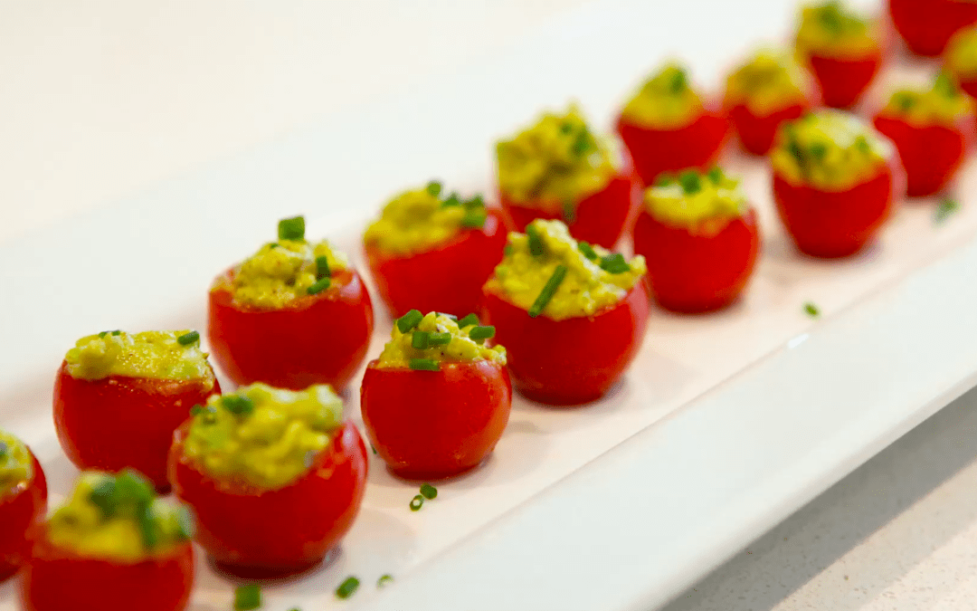 The Perfect Healthy Holiday Appetizer!