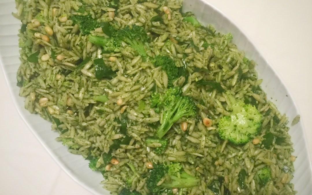 Pesto and Greens Pasta