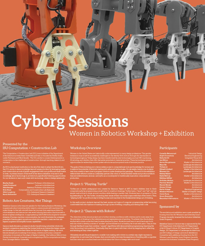 Cyborg Sessions Women And Robotics Workshop And Exhibition The