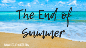 The End of Summer