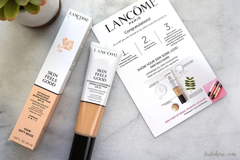 Lancôme Skin Feels Good Tinted Moisturizer | REVIEW