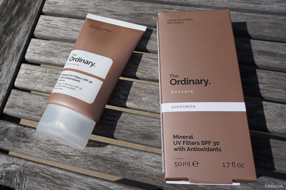 The Ordinary range of Mineral UV Filters formulas' offer SPF protection along with antioxidant, hydration, and anti-irritant support.