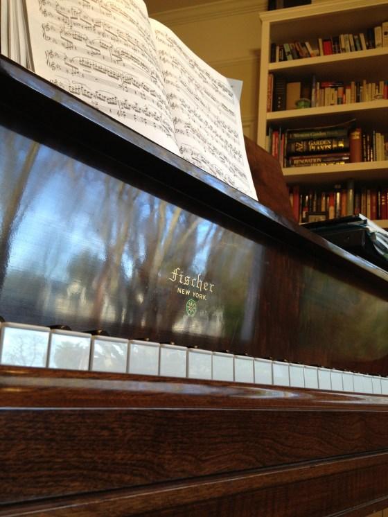 my neighborhood reflected in my grandmother's piano