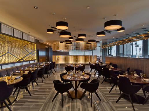 Current at the W Hotel in Chicago. by Meyer Davis Studio