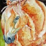 Gesso Juice Golden Horse Leslie White