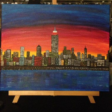 Painted on 2.23.14