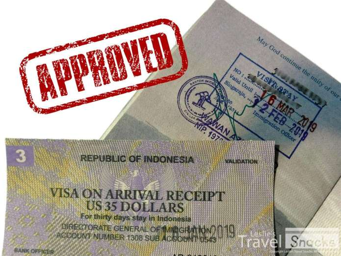 Extending Your 30 Day Indonesian Visa