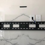 Mounting Tv On Ceramic Tile Marble And Granite Wall Without Studs Leslievillegeek Tv Installation Home Theatre Cabling Wiring