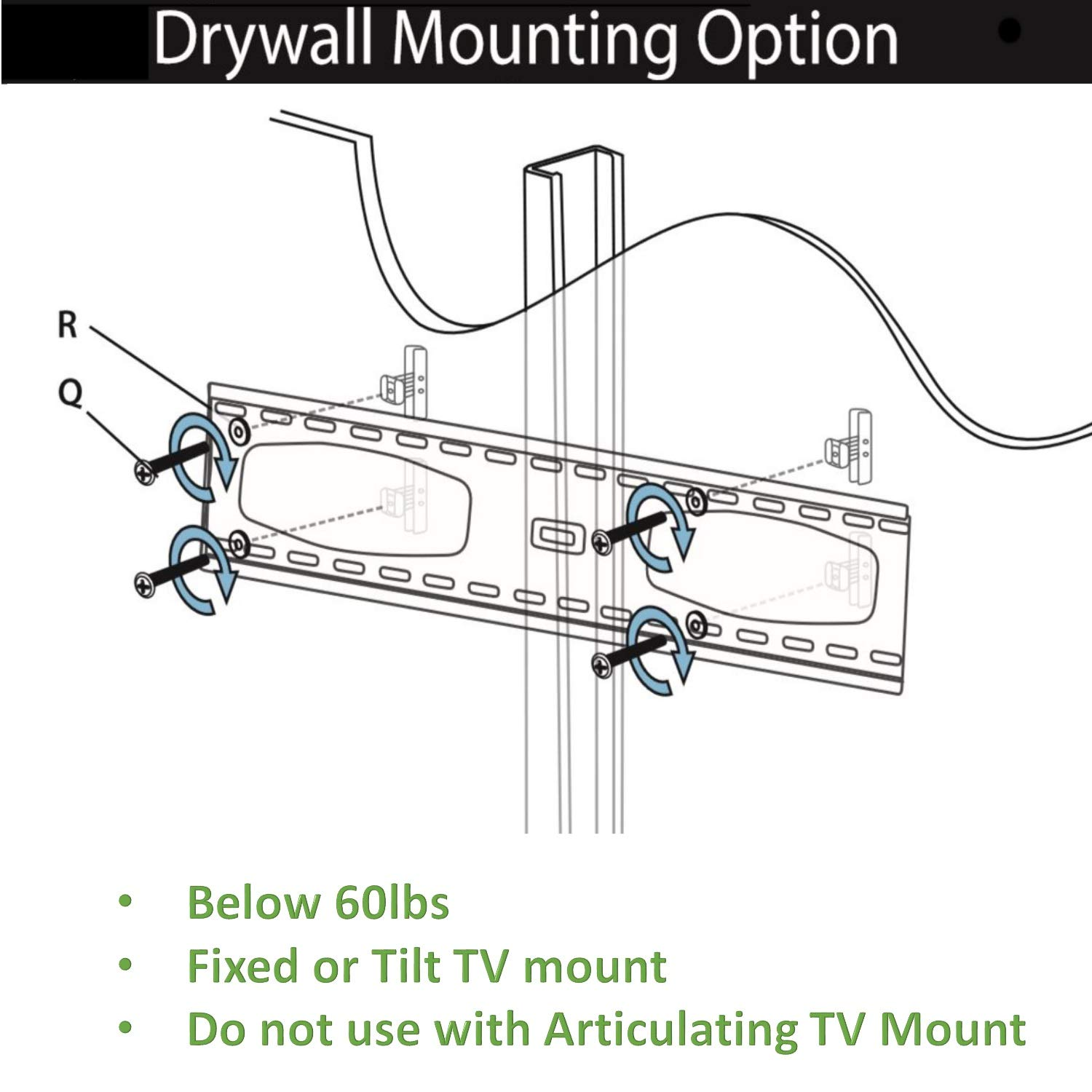 200 Lbs Drywall Anchor Mounting Kit For Wall Mounting