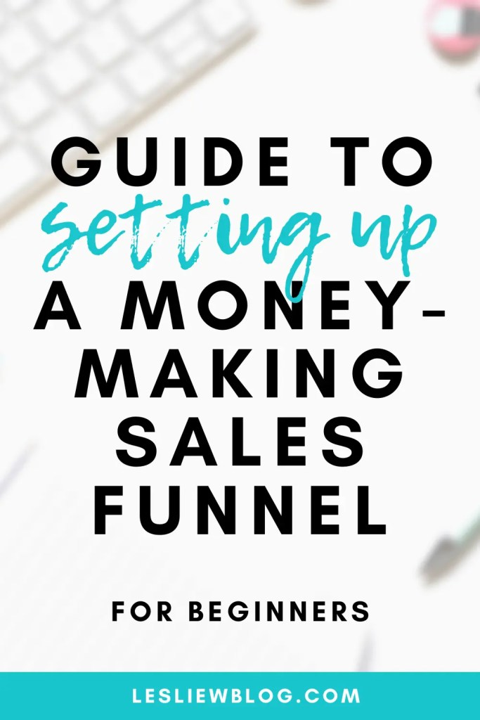 what is a sales funnel and how to set up a sales funnel
