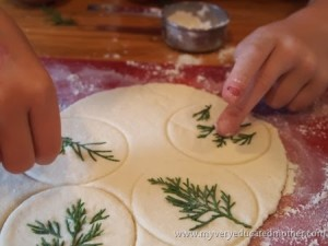 #NUO2013 Salt Dough Ornaments my very educated mother
