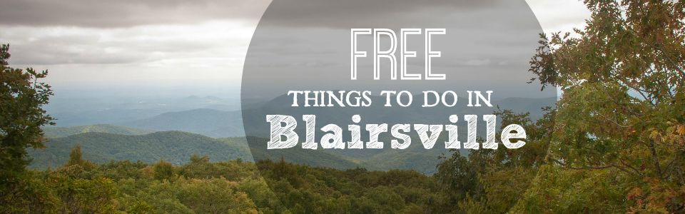 Free things to do in Blairsville