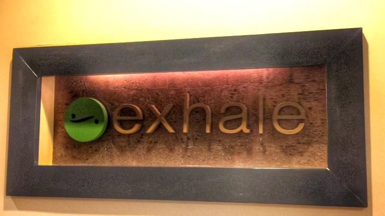 exhale Sap at Midtown Loews Atlanta yoga