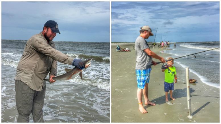little st simons island fishing