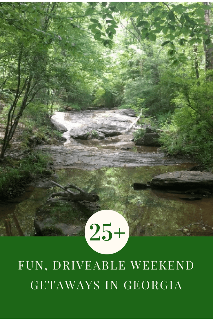 25+ Drivable Weekend Getaways in Ga.