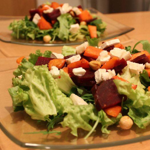 Ma bonne salade d'hiver