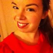 Pour la saint valentin, j'ai sorti ma robe rouge !