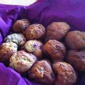 Merci copinette pour ces bon muffins framboise chocolat ...