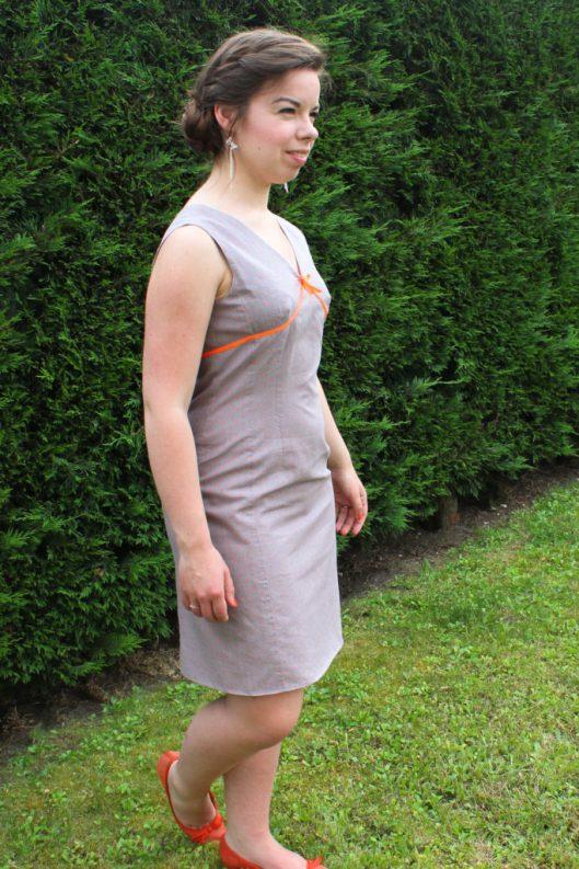 Robe à pois et détails fluo - Les lubies de louise (3 sur 7)