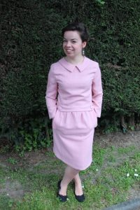 Robe vintage rose - les lubies de louise