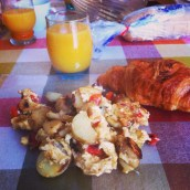 Un petit déjeuner Américain
