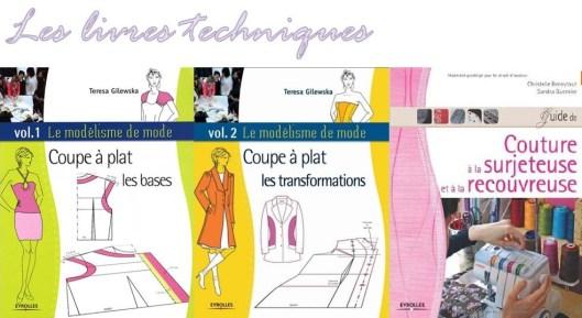 whishlist couture - les livres techniques - les lubies de Louise