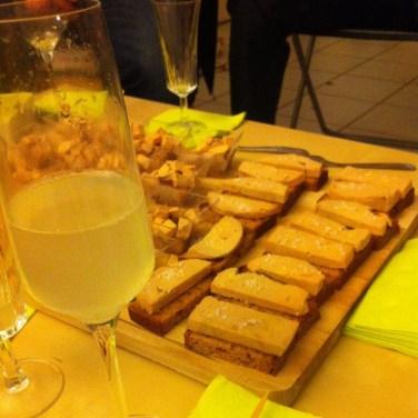 fois gras et soupe de champagne, la base :P