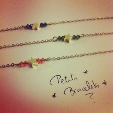 Des petits bracelets rien que pour vous