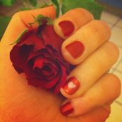 Manucure cul cul de Saint Valentin ♥
