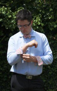 Chemise de costume val et noeud papillon - Les lubies de louise-19