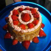 Dessert gourmand chez nos amis