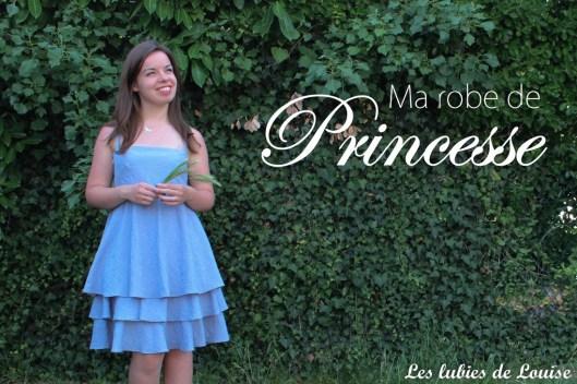 ma robe de princesse - Les lubies de louise-titre