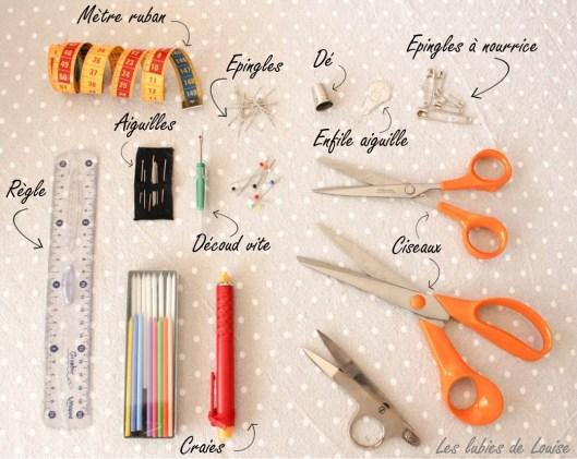Ma boite à couture idéale notes- Les lubies de louise