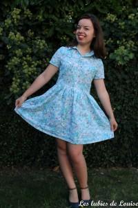Cami dress fleurie - Les lubies de louise-5