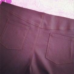 mon premier pantalon poches- Les lubies de louise