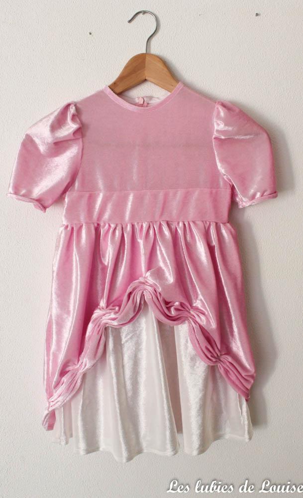 robe de princesse rose - Les lubies de louise-2