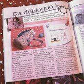 Première interview dans un magazine !