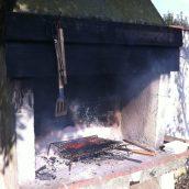 Hors saison, mais on n'a pas pu résister aux grillades !