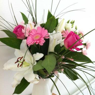 Des jolies fleurs, merci soeurette ♥