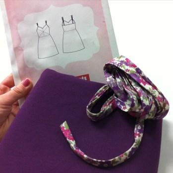 Nouveau projet pour un joli mariage violet
