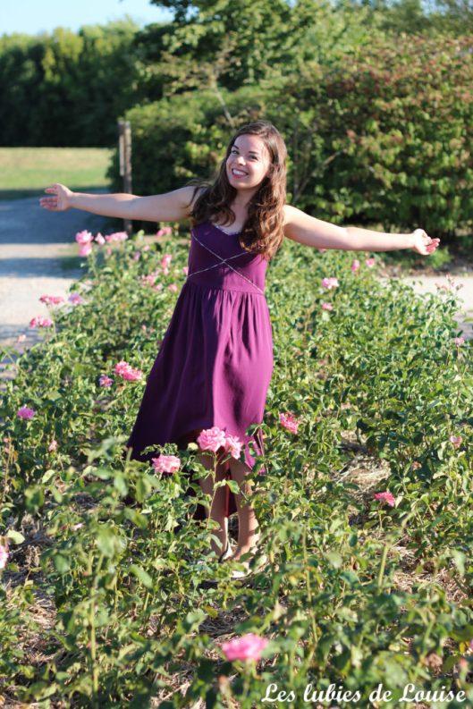 Robe centaurée mariage violet - les lubies de louise-24