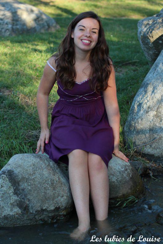 Robe centaurée mariage violet - les lubies de louise-78