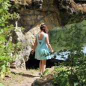 Ma robe jade est sur le blog