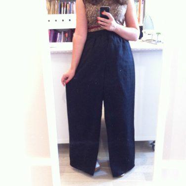 J'ai cousu un pantalon de détente pour belle maman